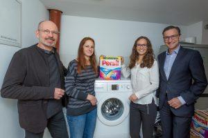 Henkel übergibt Auftakt Bosch Waschmaschinen